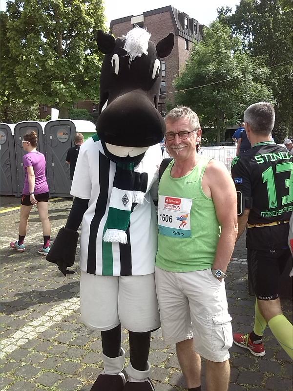 Santander-Marathon mit Jünter